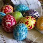 Фото 54: Дкупаж яиц салфетками с узорами