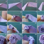 Фото 77: Розы из бумаги