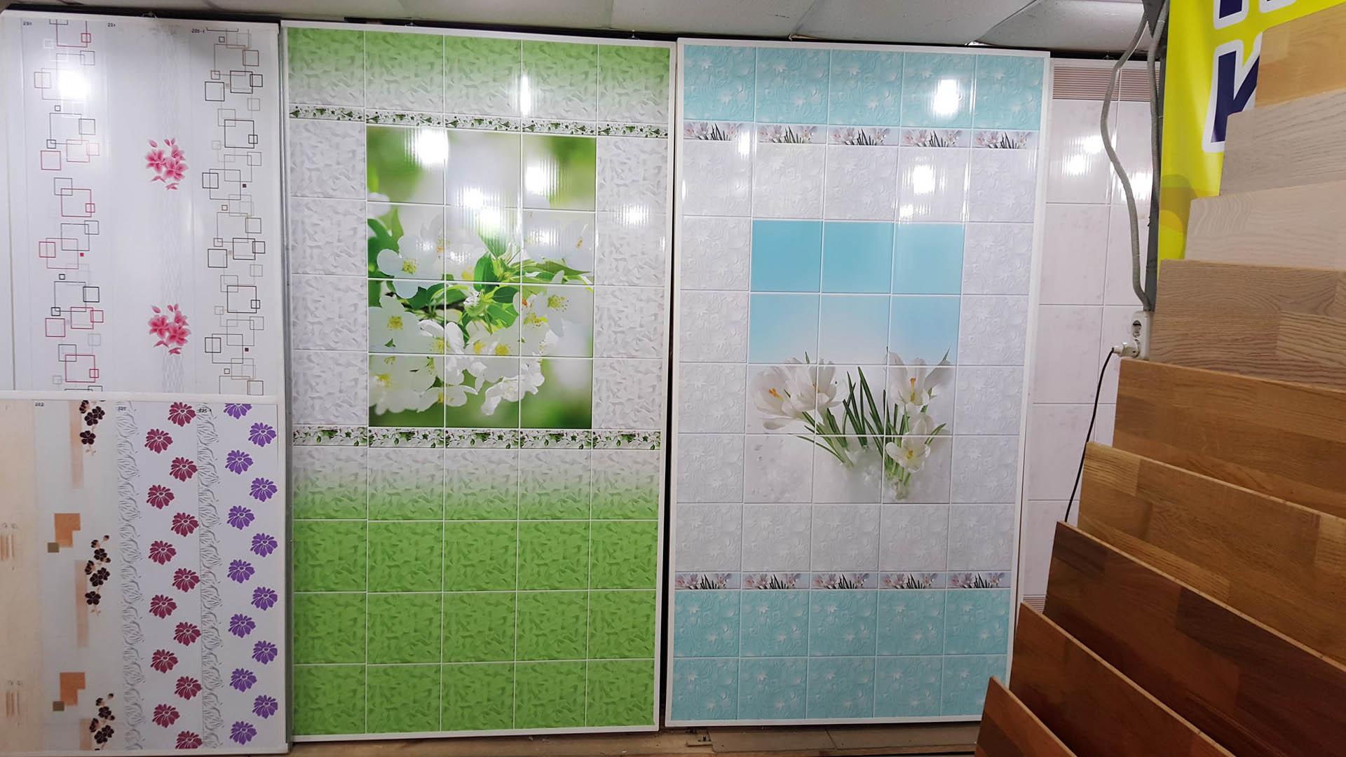 Выбор пластиковых панелей для ванной комнаты