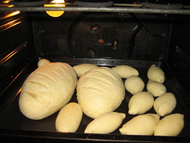 Приготовление хлеба в хлебопечке