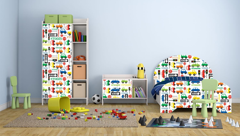Самоклеющаяся пленка для детской комнаты
