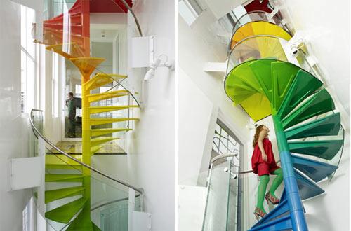 необычные современные лестницы11