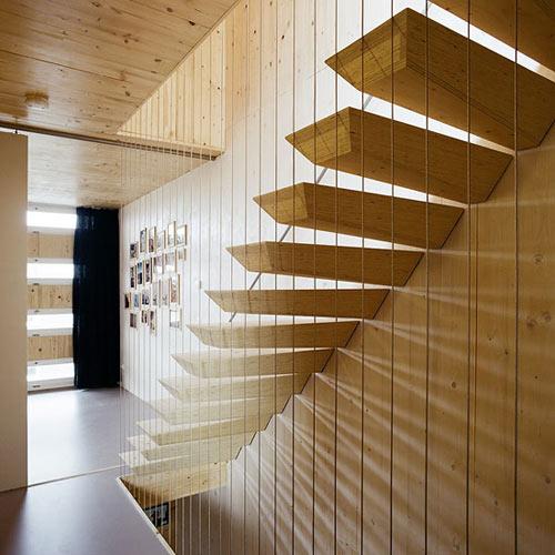 необычные современные лестницы9