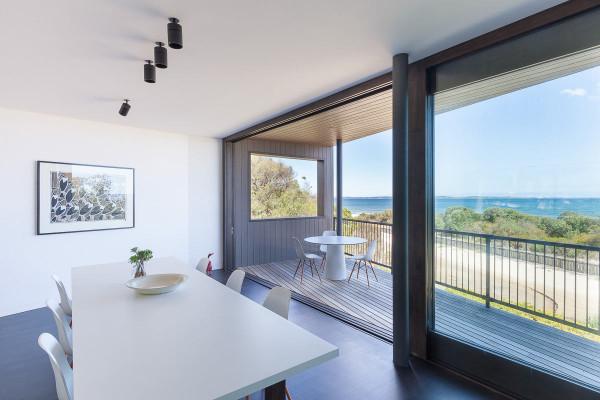 пляжный дом с видом на залив6