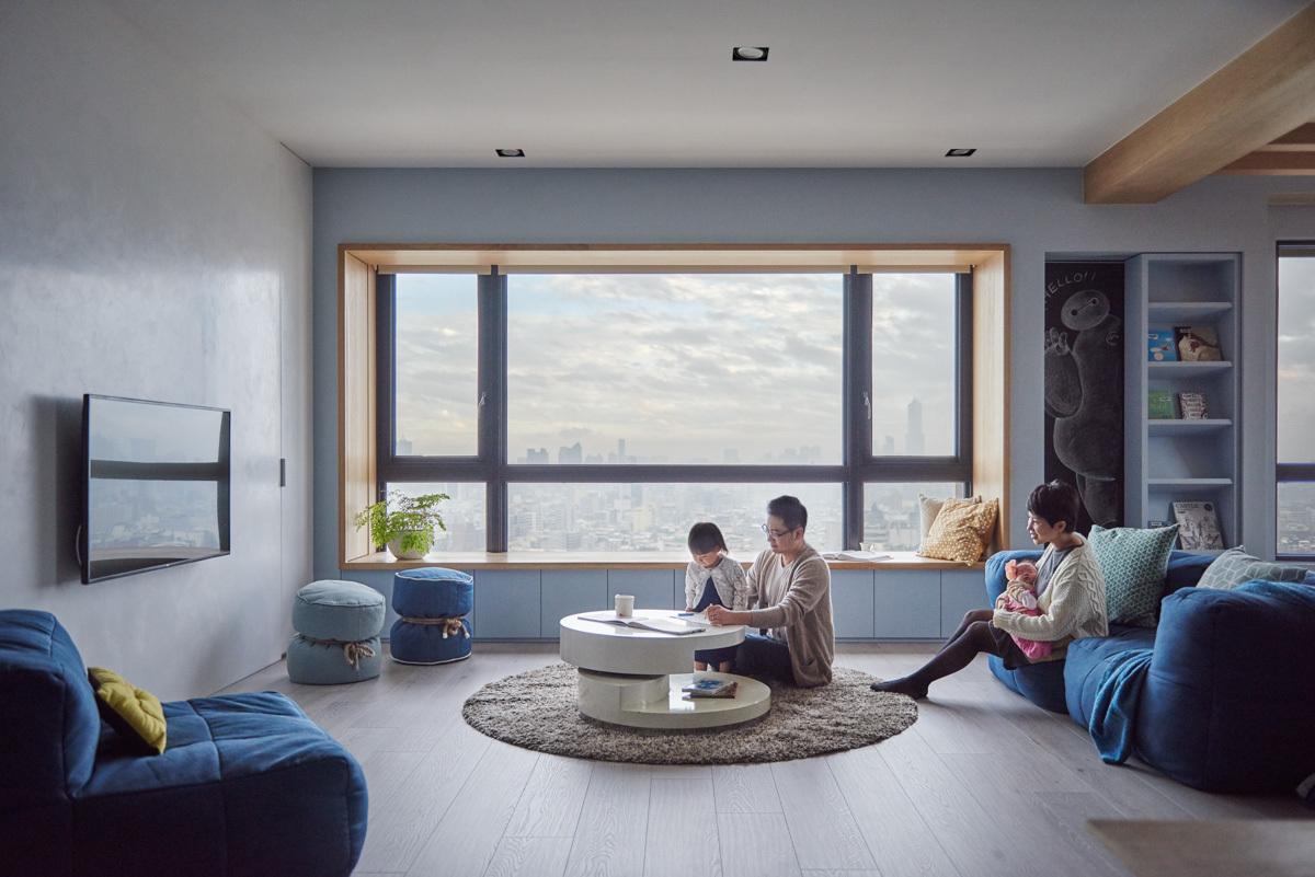 яркая современная квартира3