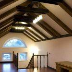 Фото 11: Отделка потолка мансарды
