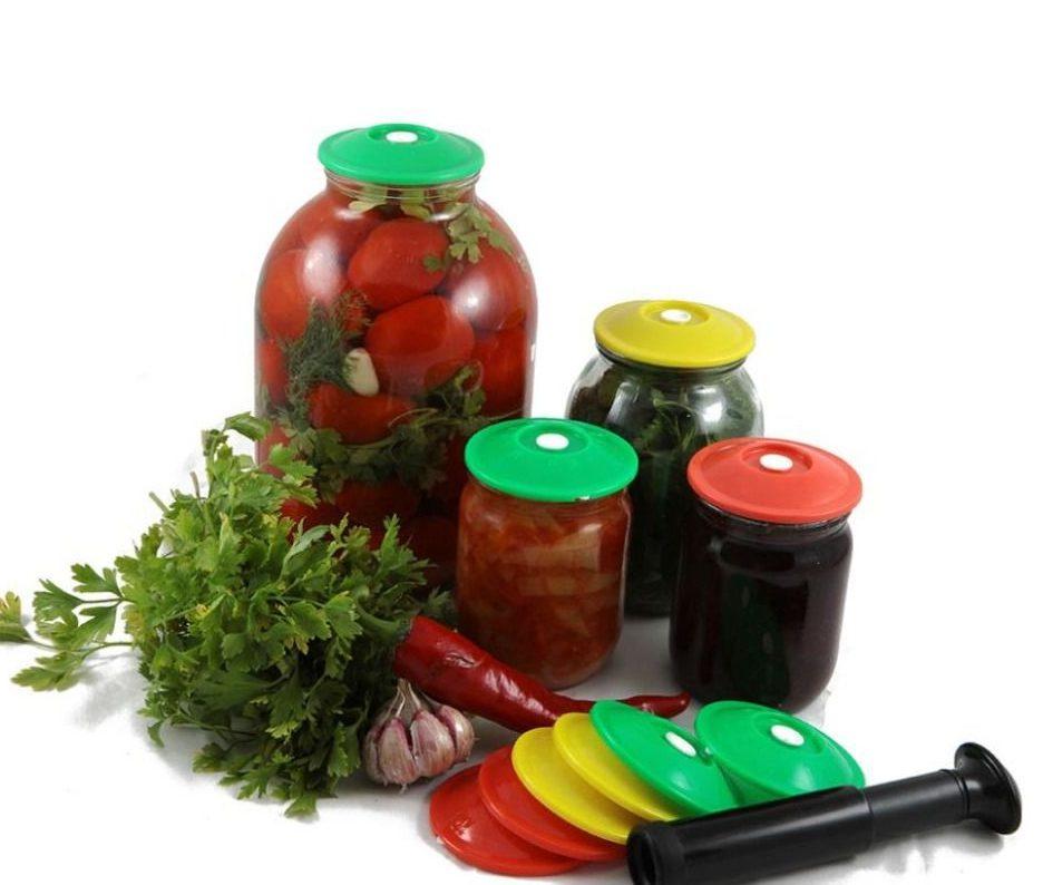 Вакуумные крышки для консервирования плодов