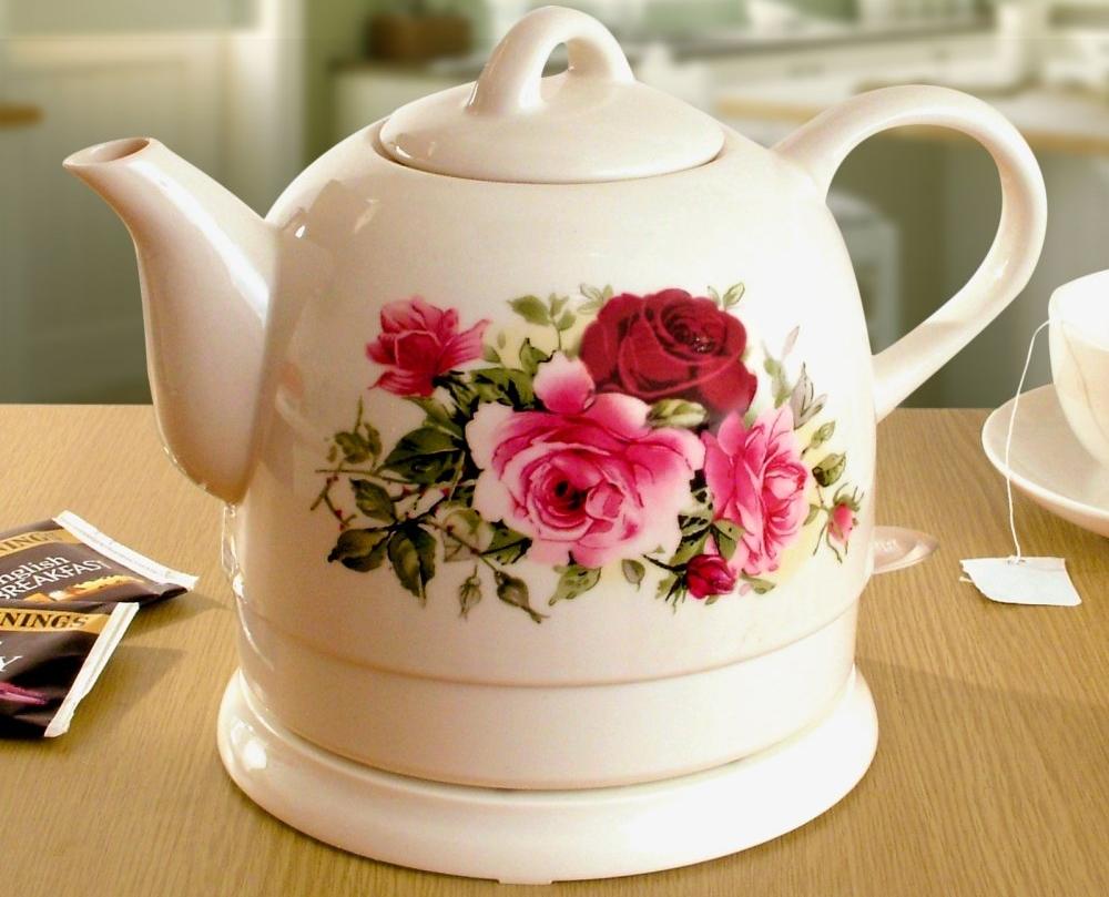 Как выбрать керамический чайник электрический
