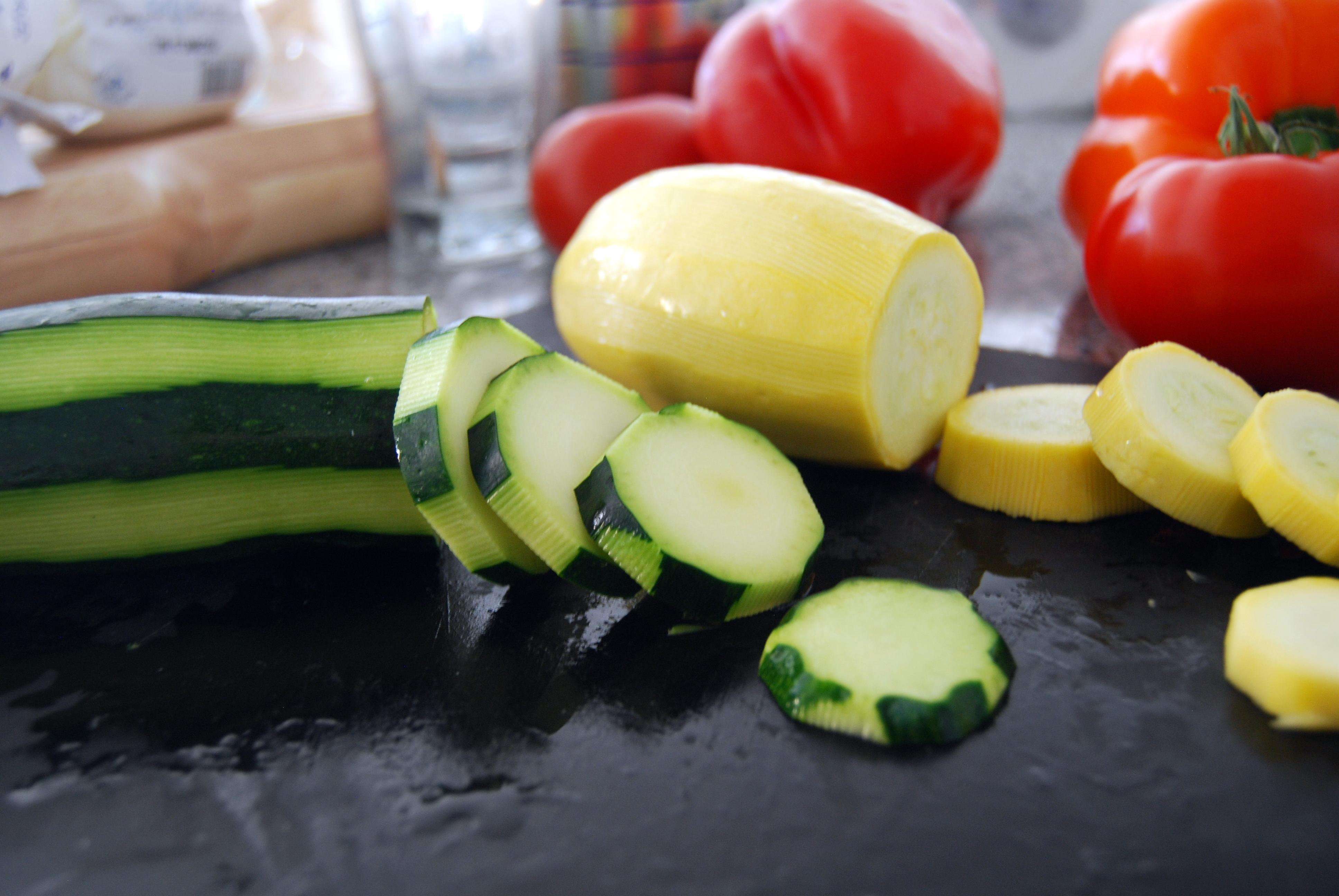 Цуккини для запеченных в духовке овощей