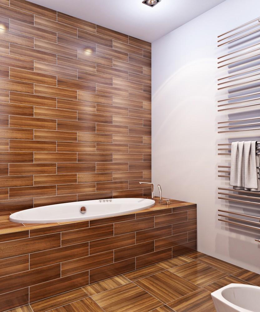 Плитка в ванной