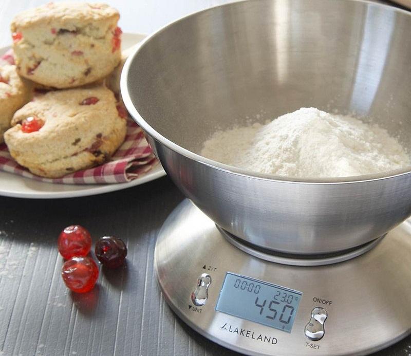 Весы кухонные электронные стальные