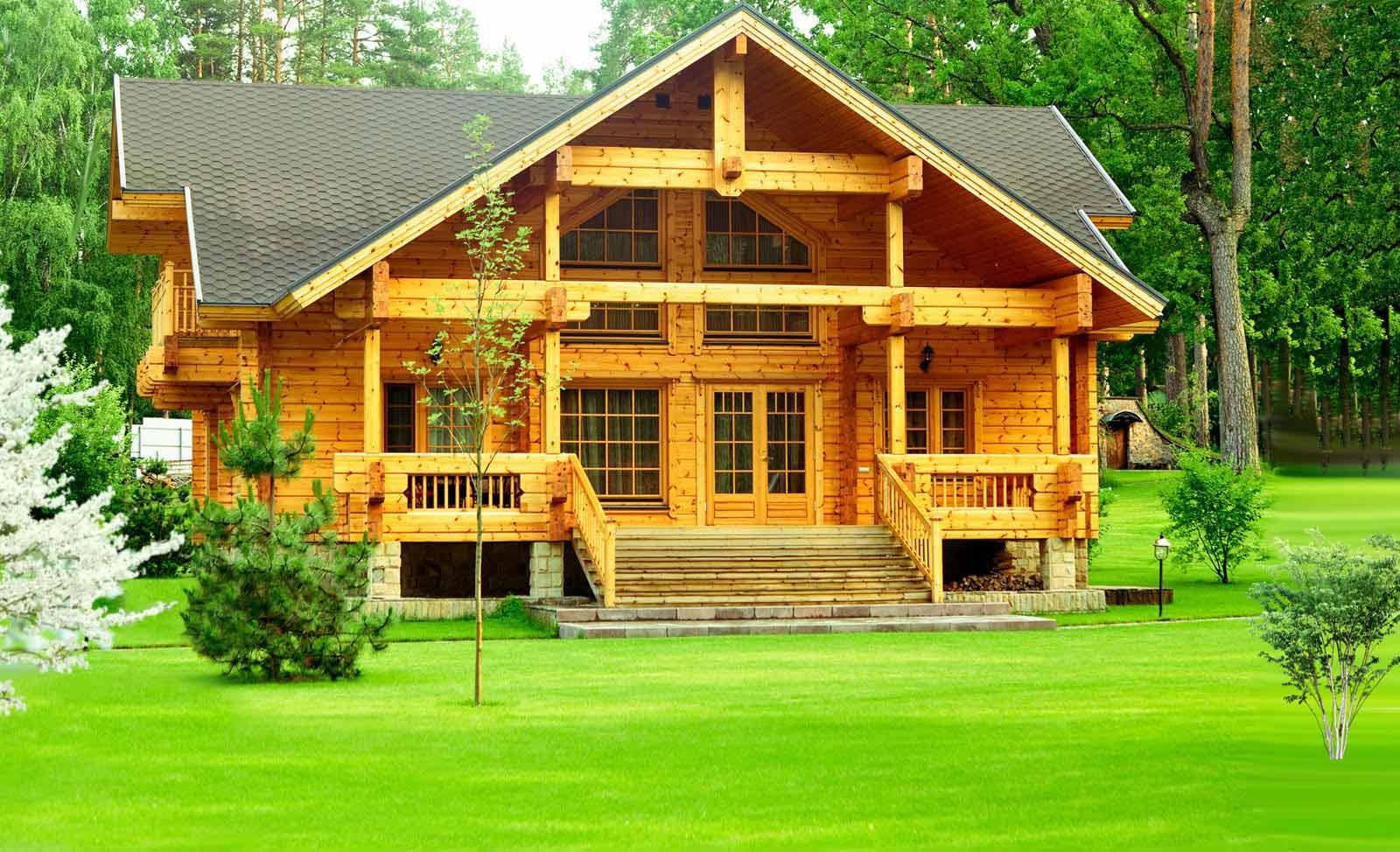 Финские дома из клееного бруса достоинства