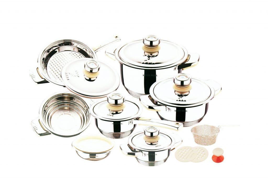 Посуда из нержавеющей стали SILVER ROYAL Solingen