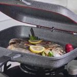 Фото 47: Каменная сковорода - гриль с крышкой