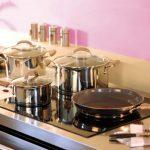 Фото 46: Набор посуды из нержавеющей стали Tefal с пластиковыми ручками