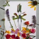 Фото 75: Аппликации из цветов