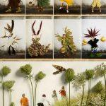 Фото 79: Декор фотографий гербарием