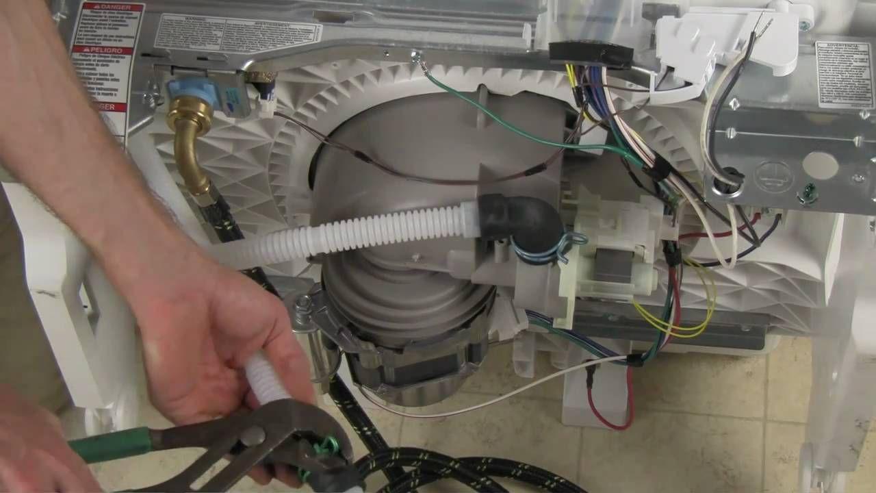Посудомоечная машина со шланом