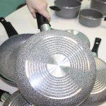 Фото 73: Каменная сковорода с дном с металлическим золотым сечением