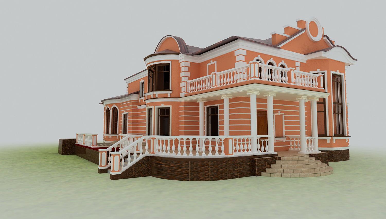 Фасадный декор легкий