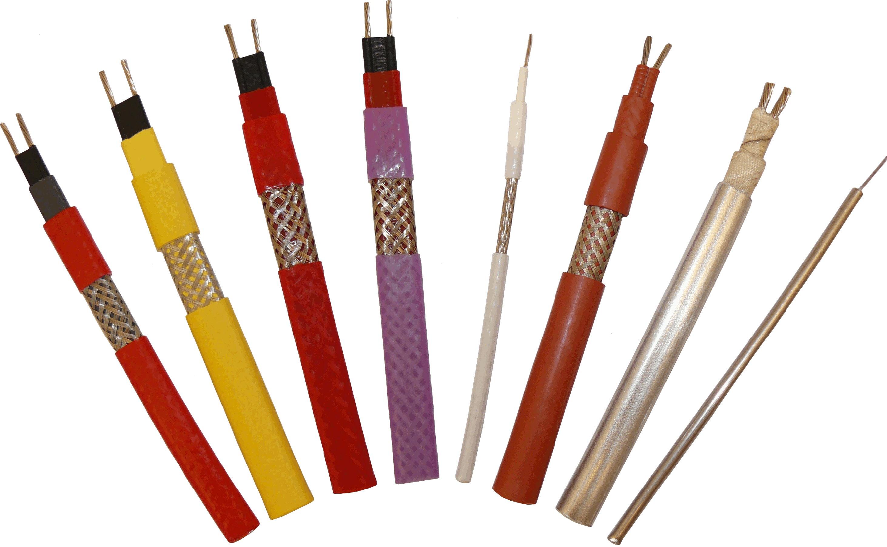 Фото греющего кабеля