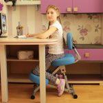 Фото 13: Коленный стул со спинкой