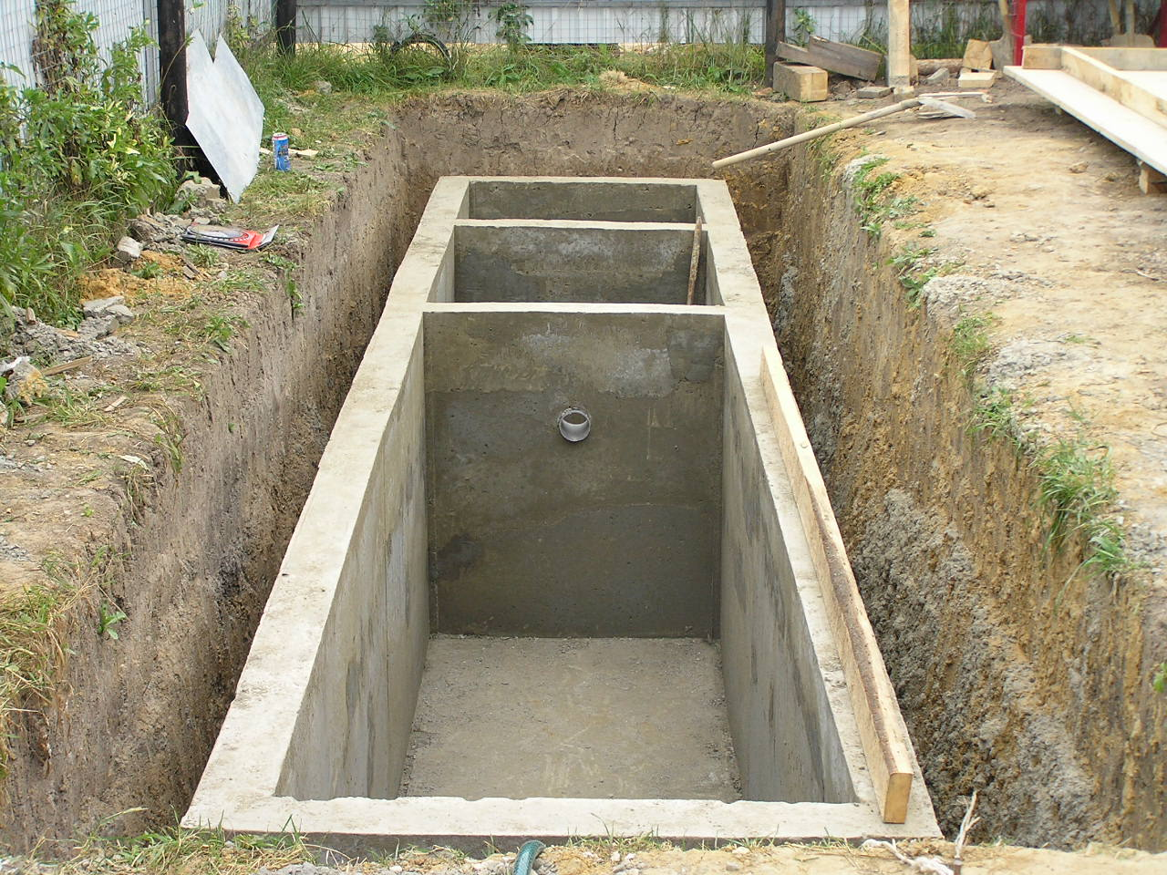 Колодец бетоновый