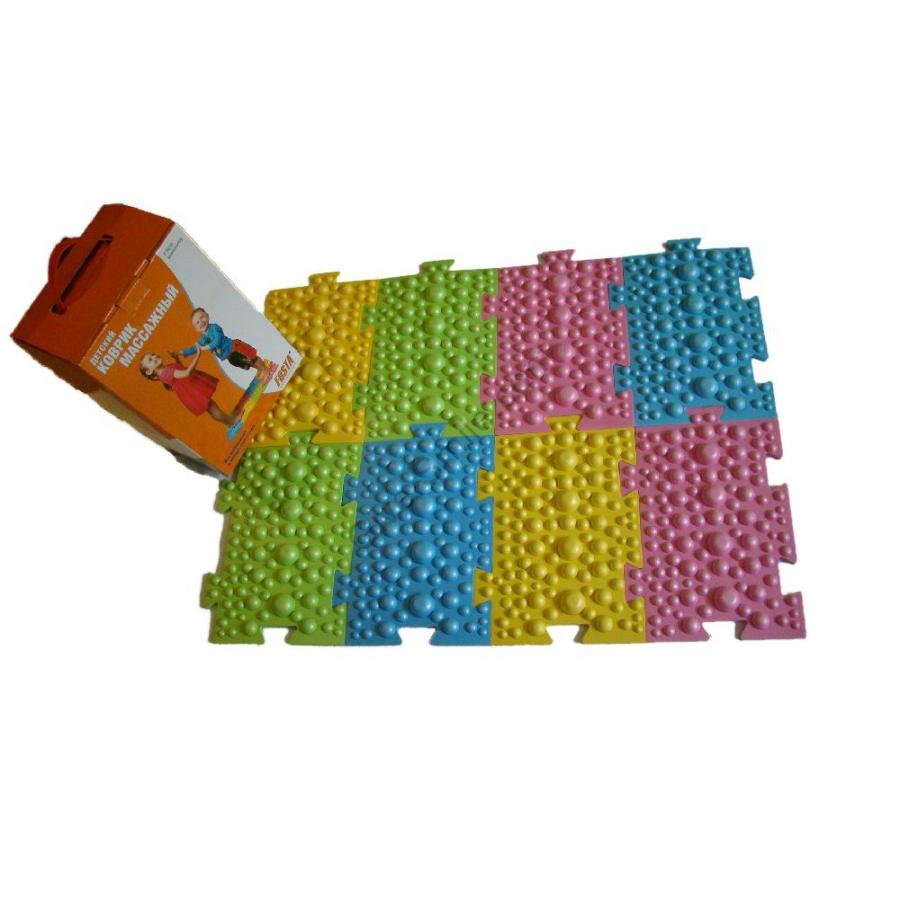 Разноцветный коврик детский