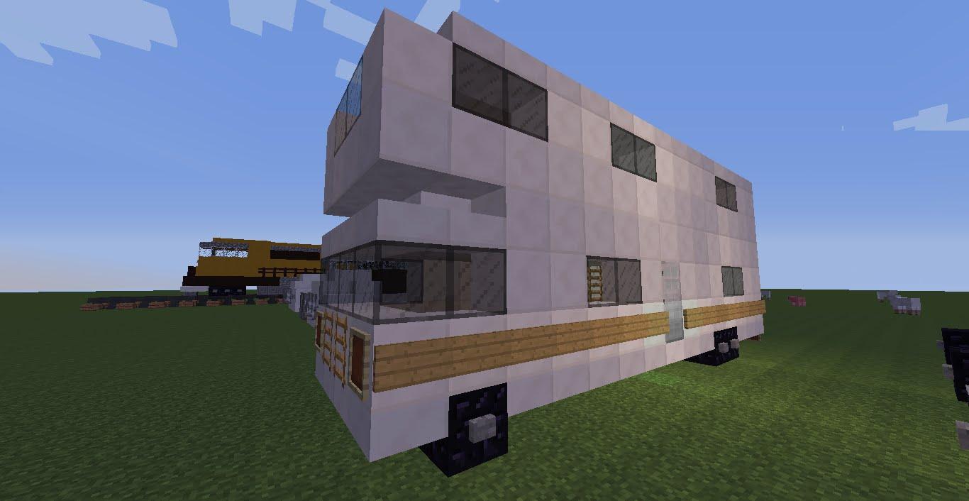 Модель дома на колесах