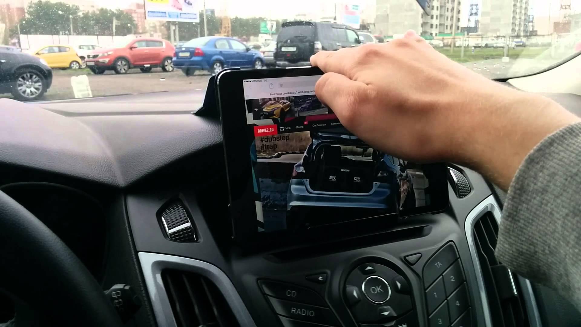 Держатель для планшета в машину обзор