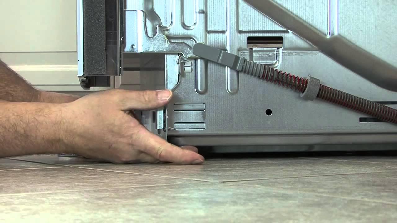 Посудомоечная машина установка крепления