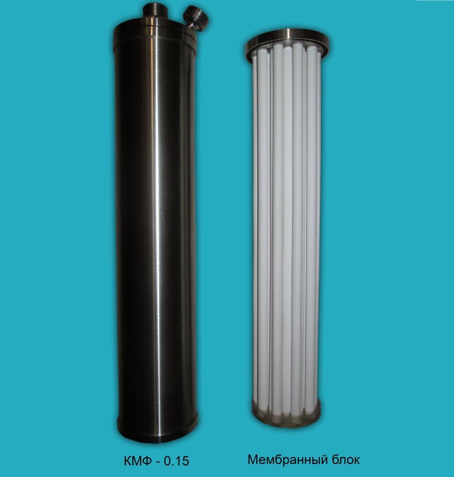 Мембранный блок и корпус керамического фильтра