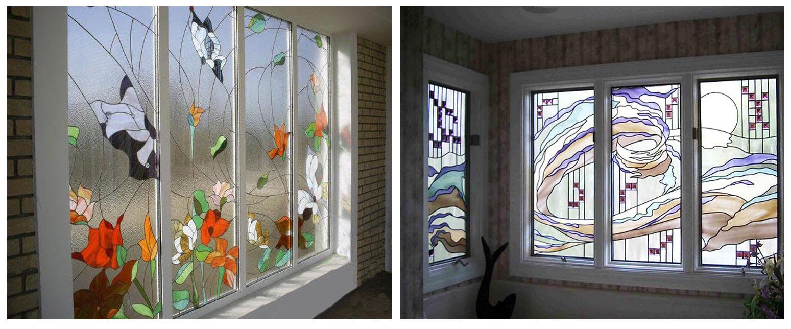 Витражные окна применение