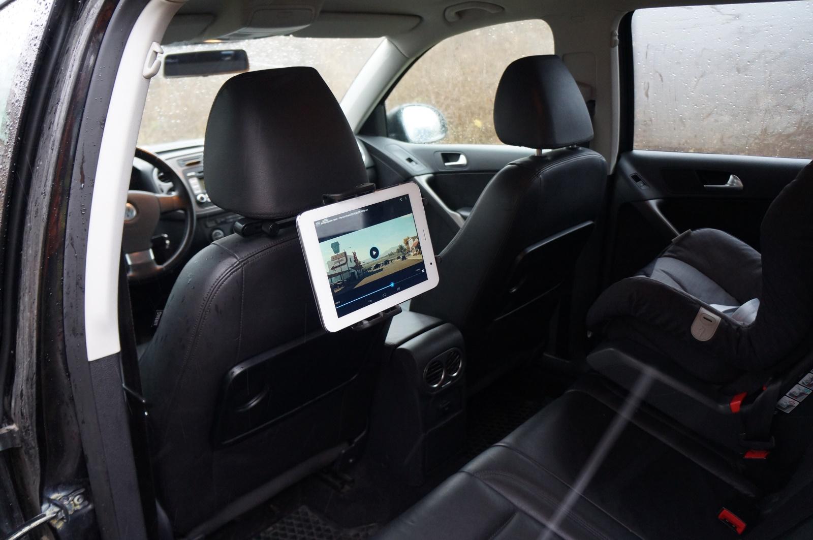 Держатель для планшета в машину на заднее сиденье