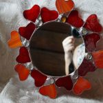 Фото 29: Отделка зеркала витражом