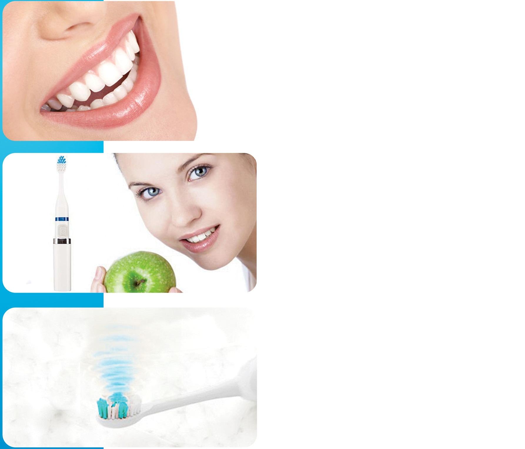 Зубная щетка шаг к белоснежной улыбки