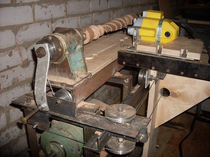 Пример самодельного фрезерного станка