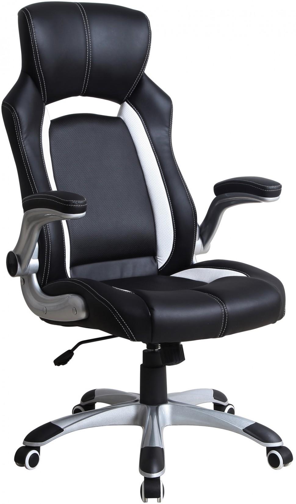 Компьютерное кресло для геймера кожанное