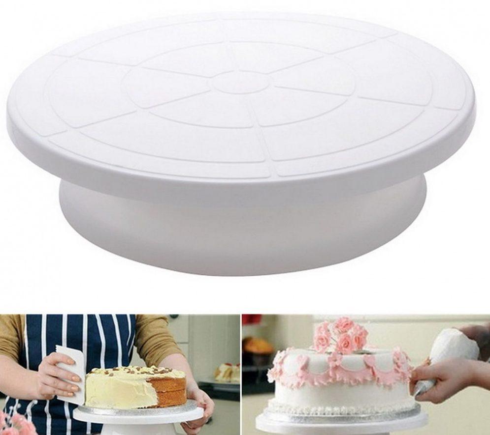 Вращающаяся подставка для торта конструкция