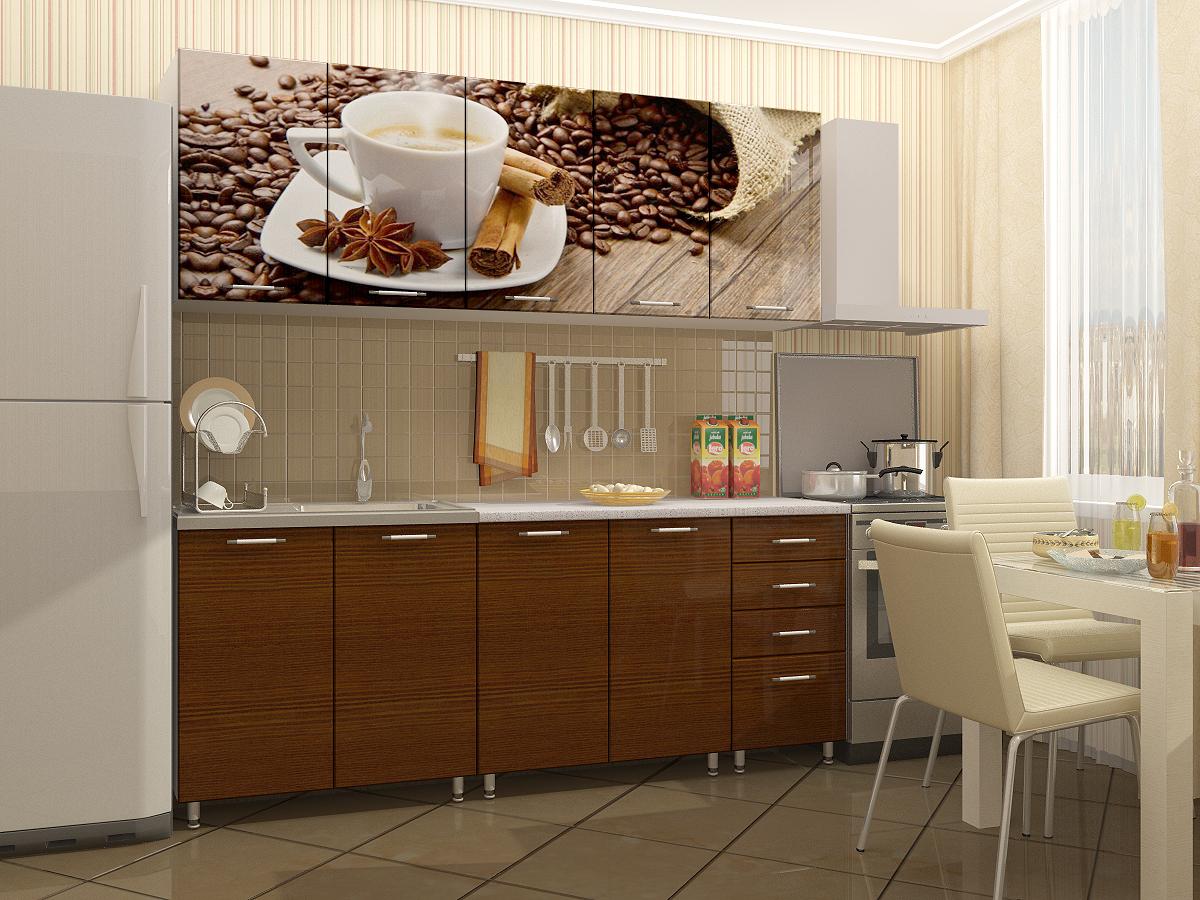 Цвет кофе кухни