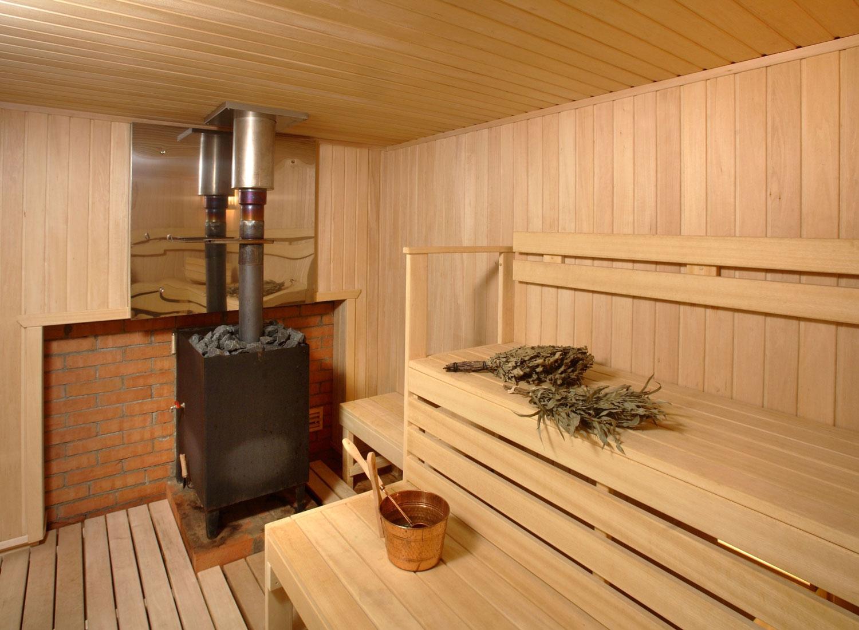 Металлическая печь для бани своими руками в интерьере
