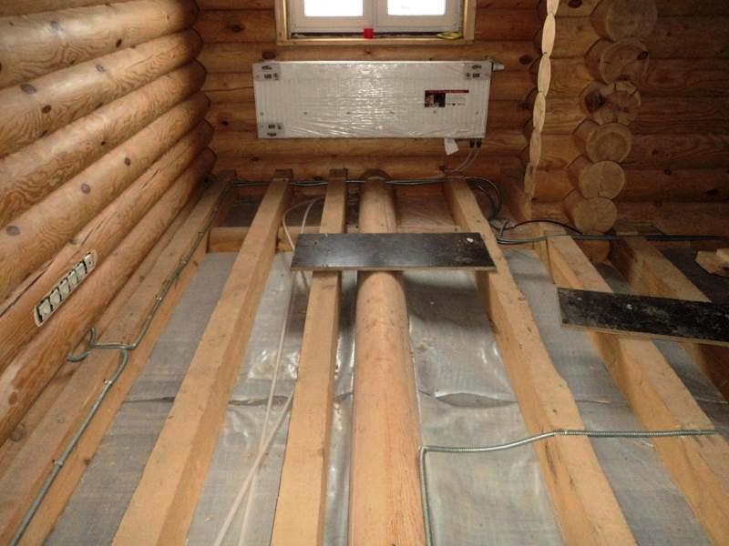 Проводка в деревянном доме своими руками монтаж фото