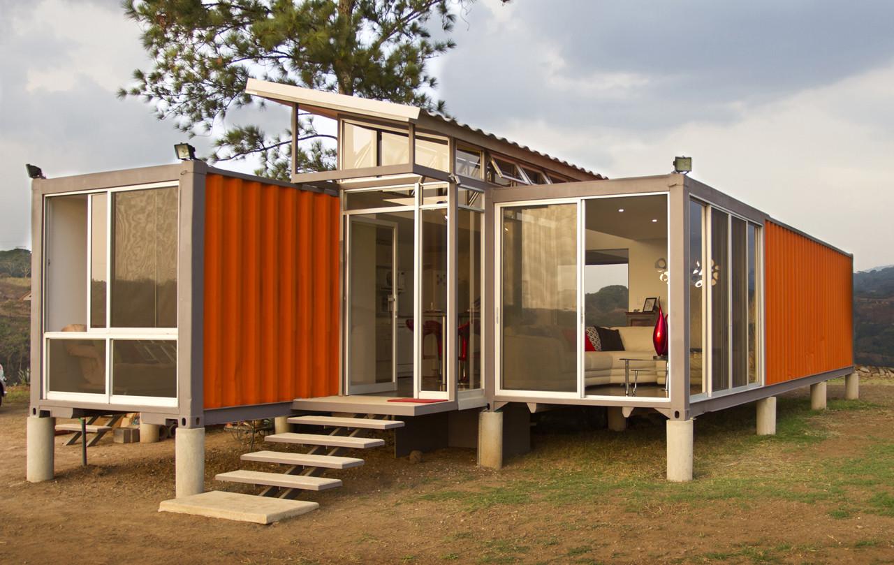 Конструкция и возведение домов из контейнера
