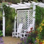 Фото 108: Пергола для украшения сада