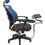 Фото 26: Геймерское кресло с подставкой под клавиатуру