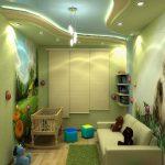 Фото 57: Дизайн детской с текстурированными фотообоями