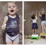 Фото 25: Обо в детской для рисования мелом