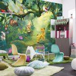Фото 79: Фото фотообои в детской комнате фото