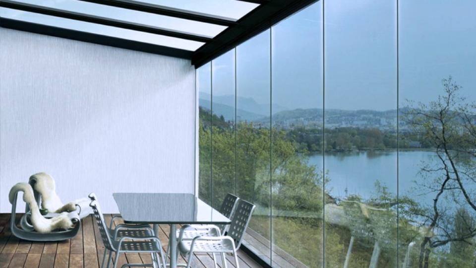 Безрамное остекление веранды, балкона и террасы