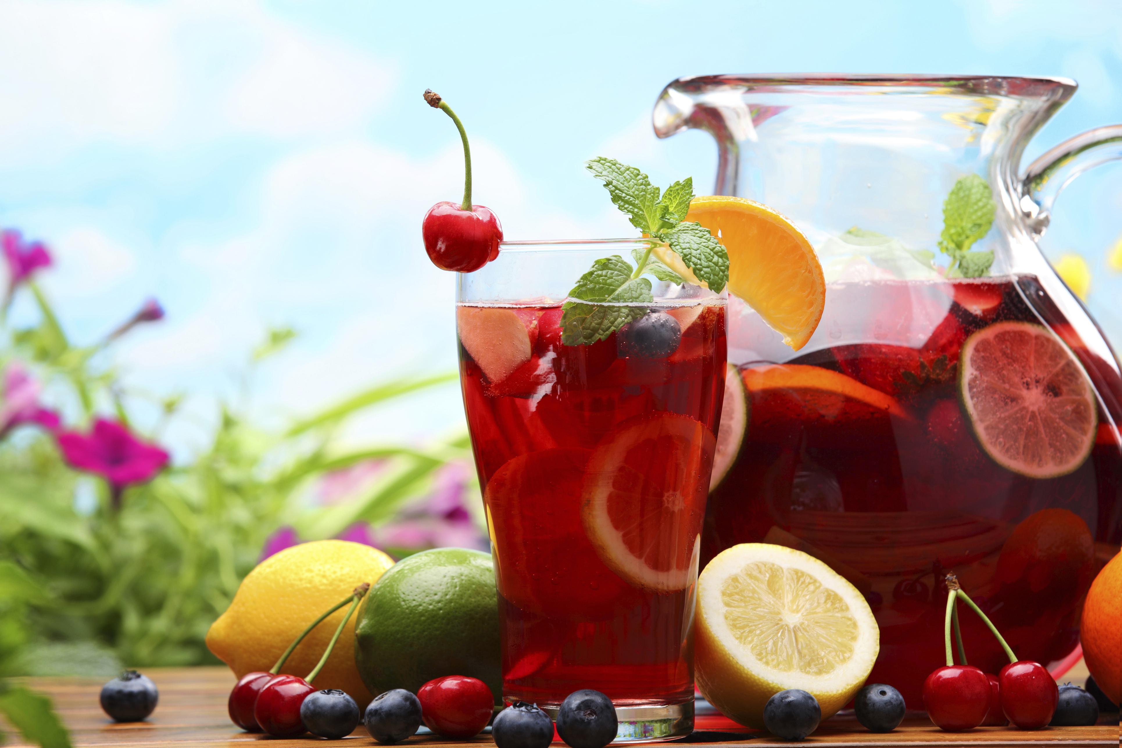 Напитки из вишни